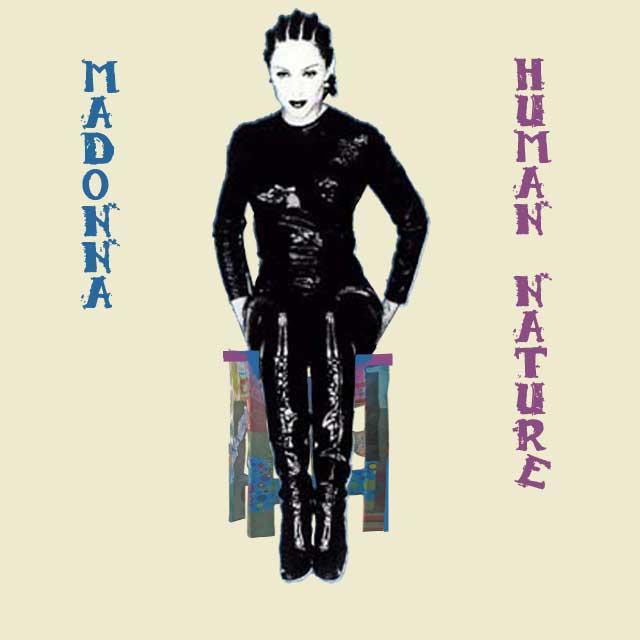 Madonnas Album 'Human Nature' im Original-Cover