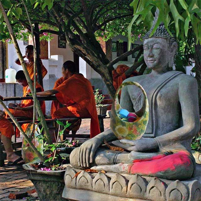 Ruedger eins geworden mit Buddah